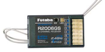 Futaba R2006GS 2.4GHz 6-Channel S-FHSS Receiver