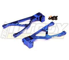 Integy Aluminum Rear lower Arm for 1/16 E-Revo Summit T3425BLUE