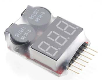 C23212 LiPo Voltage Checker/Warning Buzzer