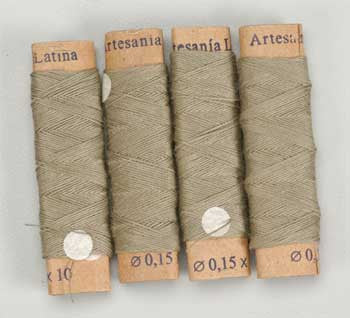 8801 Cotton Thread .15mm Beige 40 Meter