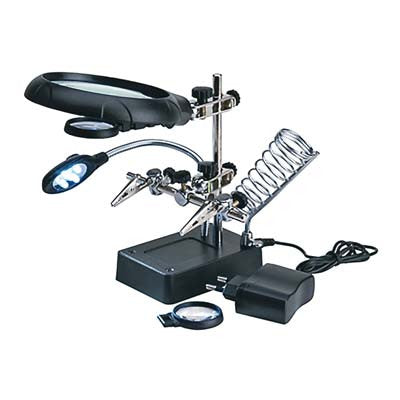 27022-3 Magnifier w/5 LED Lights