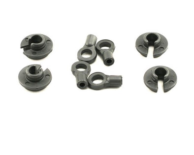 LOSA5079 Shock Ends & Cups (4)