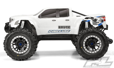 3513-17 Pro-Line Pre-Cut Brute Bash Armor Body (White) for X-MAXX