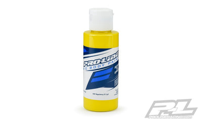 Pro-Line RC Body Paint - Yellow Specially Formulated for Polyca
