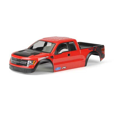 3348-15 Pre-Painted/Pre-Cut Ford F-150 SVT Raptor Red