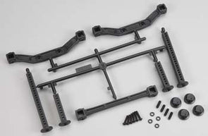 6087-00 Extended Front/Rear Body Mounts Slash 4x4