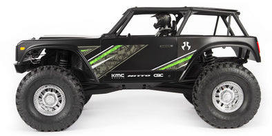 Wraith 1.9 1/10th Scale Electric 4wd RTR Black (Disponible mi-avril)