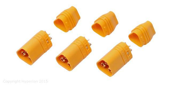 Hyperion Mt60 3-Pole 3.5Mm Male Connector For Brushless Motors (3 Pcs)
