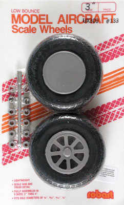 "133 Scale Wheels 3"" Diamond Tread"