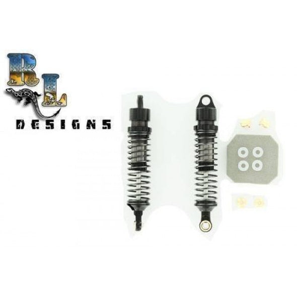 Rock Lizard Designs Billet 90mm Shock Set (2) Black