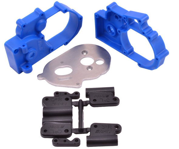 73615 RPM Hybrid Gearbox Housing & Rear Mount Kit - Blue