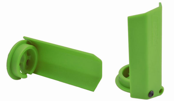 80434 RPM Black Shock Shaft Guards for the Traxxas X-Maxx - Green