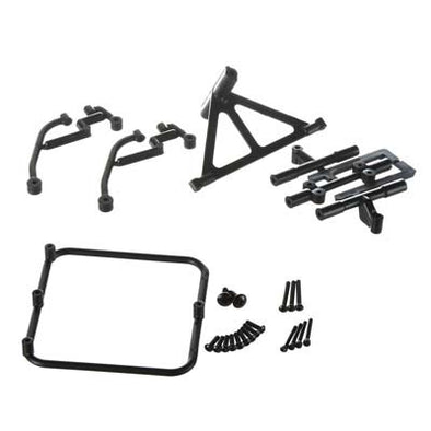 70502 Spare Tire Carrier Black Slash 2WD/4x4