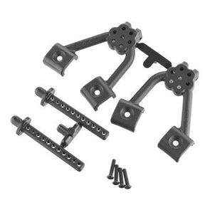 70642 Front Shock Hoops/Body Mounts SCX10