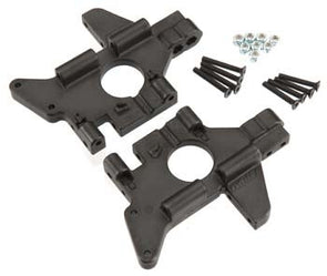 81072 Rear Bulkheads T/E-Maxx Black