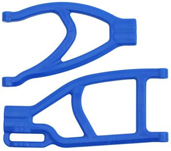 70435 Extended Left Rear A-arms Blue Summit/Revo
