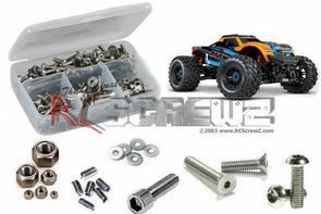 rctra089 Traxxas Maxx 1/10th (#89076-4) Stainless Steel Screw Kit