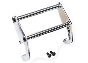 Traxxas Push bar, bumper (chrome)