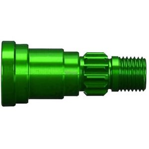 Traxxas Stub Axle, Aluminum (Green-Anodized) (1) (Use Only With #7750X Driveshaft)