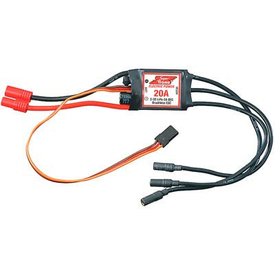 20 Amp Brushless ESC 5V/2A BEC