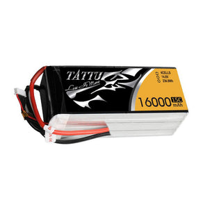 Tattu 15C 4S 16000mAh Lipo Battery Pack