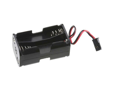 TACM2020 4 Cell AA Battery Holder w/Futaba J Connector