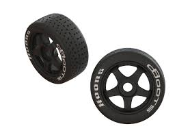 ARA550062 Arrma DBoots Hoons 42/100 2.9 Belted 5-Spoke Premounted Tires (2)