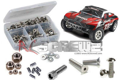 tra033 – Traxxas Slash 1/10 2WD (#58024/34) Stainless Screw Kit