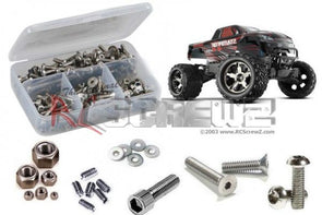 tra043 – Traxxas Stampede 4×4 RTR (#67054/86) Stainless Steel Screw Kit