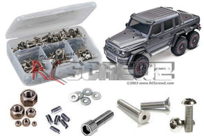 RCZTRA090 Stainless Steel Screw Kit - TRA TRX-6 Crawler 1:10