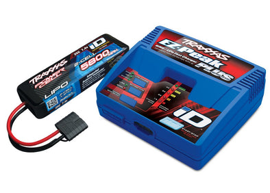 2992X Traxxas EZ-Peak 2S Completer Pack with a 5800mAh LiPo TRA2992