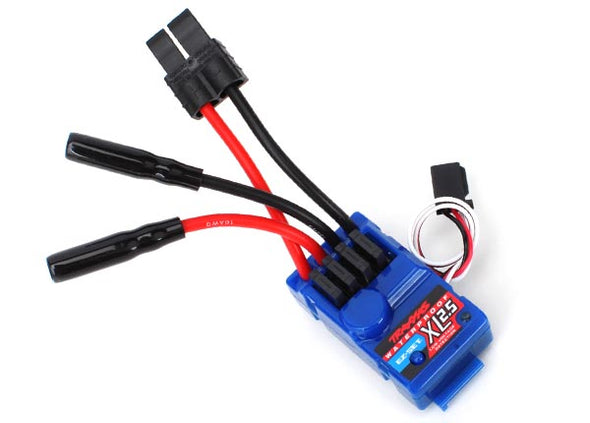 3024R Traxxas XL-2.5 ESC w/Low Voltage Detection (Waterproof)