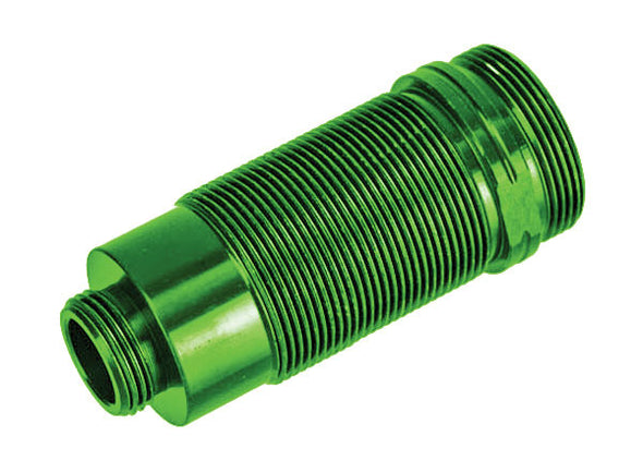 7466G Body, GTR long shock, aluminum (green-anodized) (PTFE-coated bodies) (1)