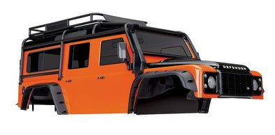 8011A Traxxas Land Rover Defender Adventure Orange Body