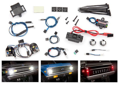 8090 Traxxas LED light set, complete with power supply (contains head