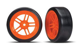 Traxxas Tires and wheels, assembled, glued TRA8376A