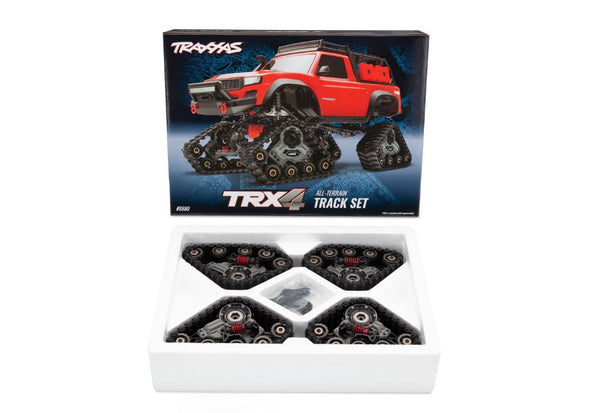 8880 Traxxas Traxx, TRX-4 (4) (complete set, front & rear)