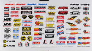 2514 Decal sheet, racing sponsors