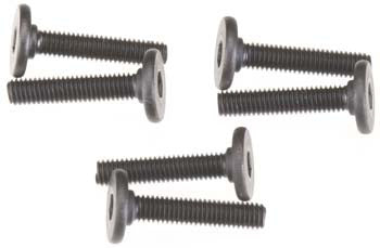 3646 Screws, 3x15mm flat-head machine (hex drive) (6)