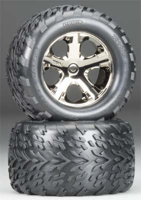 3668A All-Star Blk Chrm Whls Talon Tires