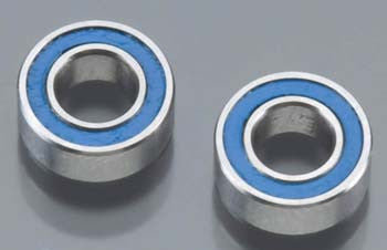 7019 Ball Bearings Blue Rubber Sealed 4x8x3mm (2)