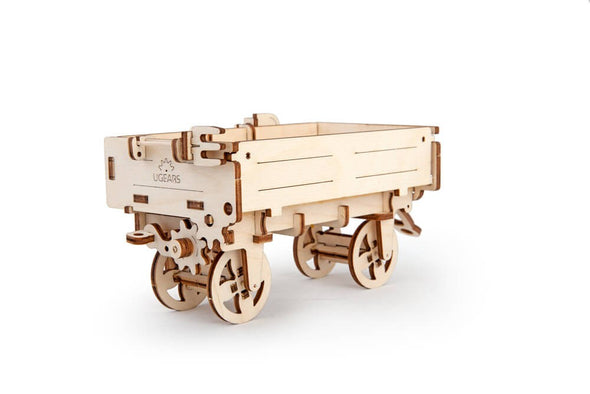UGears Tractor's Trailer - 68 pieces (Easy)