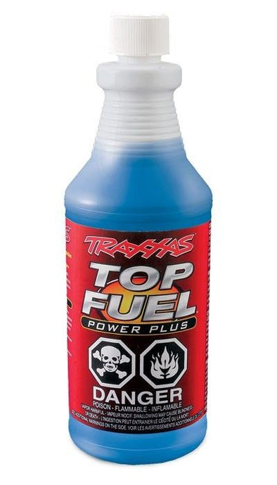 5030 Traxxas Top Fuel Power Plus 33% nitro fuel (1 quart)