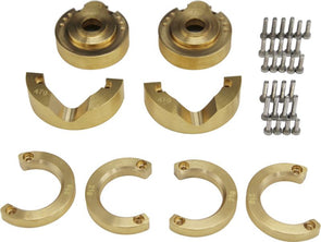 TRXF21HA Ultimate Modular Brass Front Portal Knuckle Weight Kit Tra Trx-4