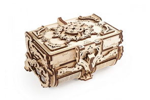 UGears Antique Box» mechanical model kit 185pieces