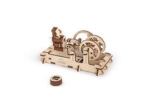UGears Pneumatic Engine - 81 pieces
