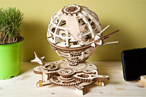 UGears Model Globe - 184 Pieces