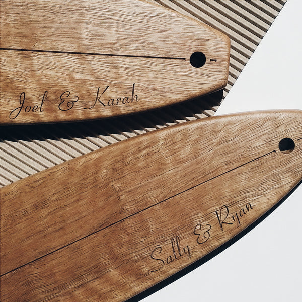 Personalised Longboard Australian Hardwood Serving Platters