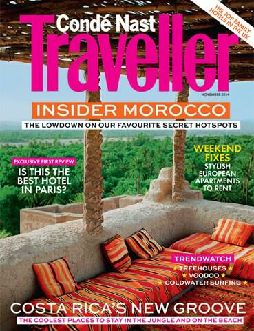 Conde Nast Traveller UK Nov 2014