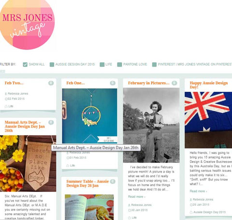 Mrs Jones Vintage Blog Jan 2015